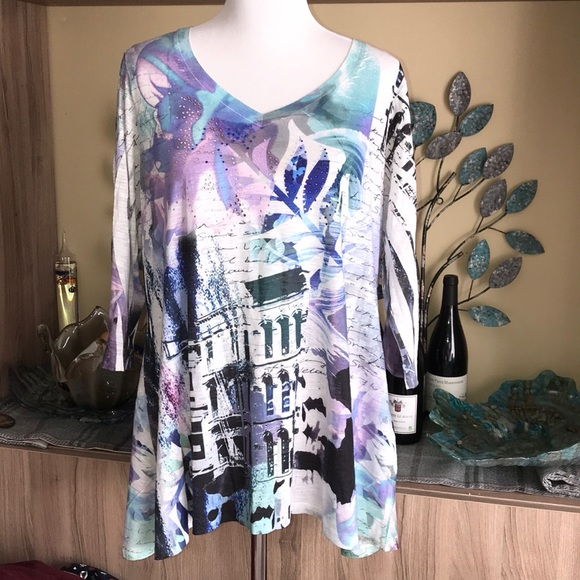 Style & Co Tops - Style & Co. 3/4 Sleeve Blouse 1361